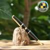 Bút gỗ khắc chữ hr1