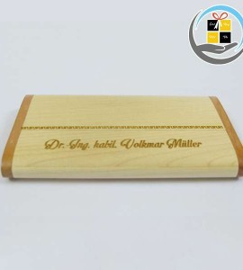 Hộp namecard gỗ