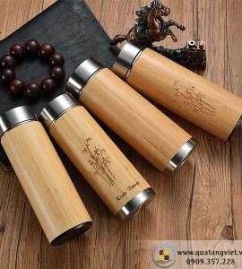 Bình giữ nhiệt gỗ BGN003