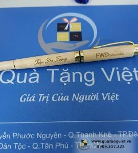 Bút Gỗ Khắc Tên QTV040