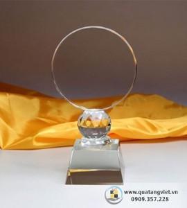 Cúp Pha Lê Tròn QTV041