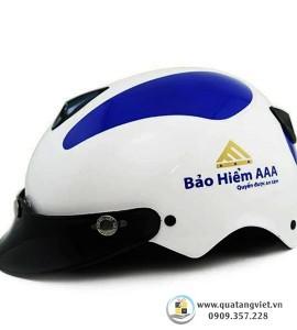 Nón Bảo Hiểm In Logo QTV092