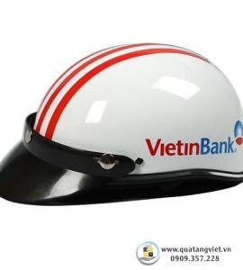Nón Bảo Hiểm In Logo QTV094