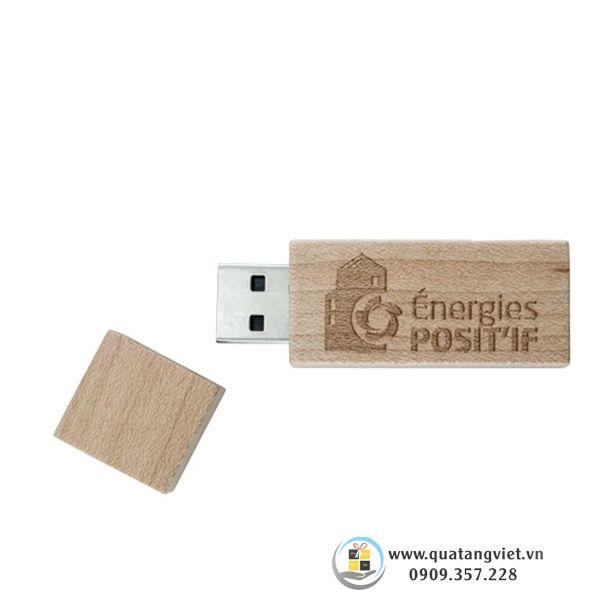 gỗ làm usb quảng cáo