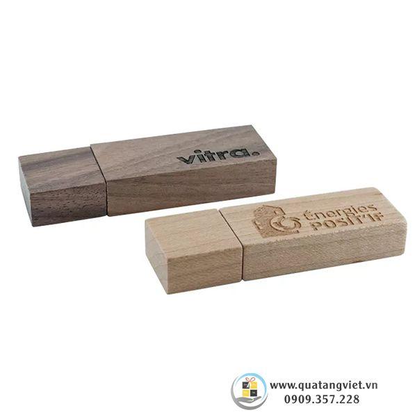bộ đôi usb gỗ