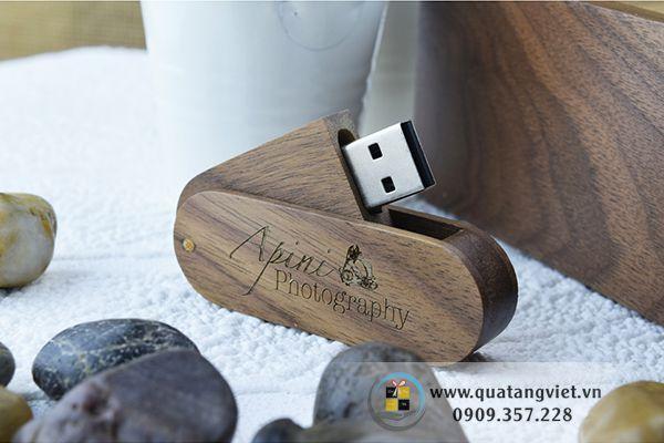 usb gỗ quà tặng